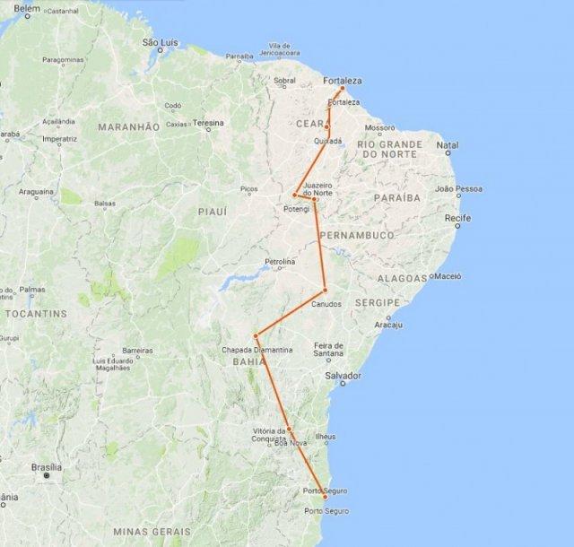 Brazilie Groepsreis Noordoost