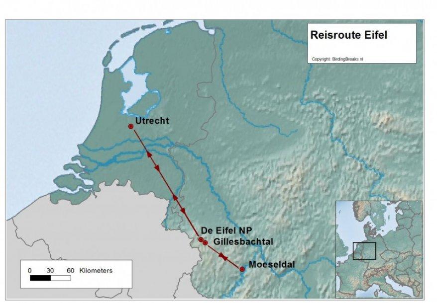 Duitsland de Eifel route