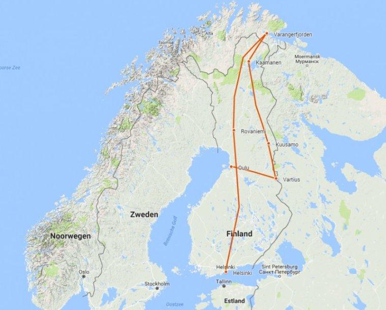 Finland Lapland en Varanger route