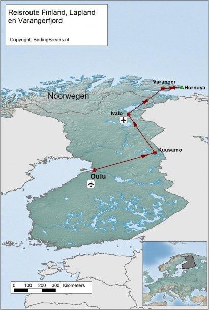 Finland Natuurpunt route