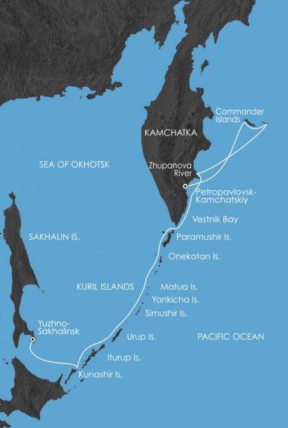 Kamsjatka en de Koerillen route