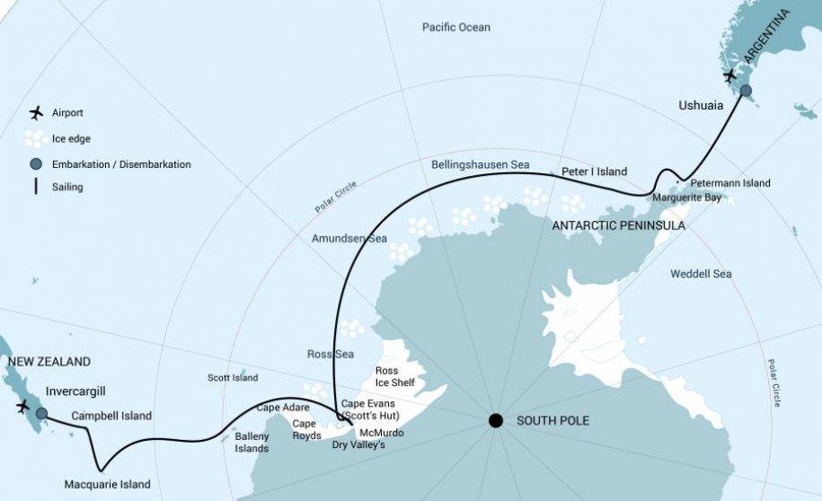 Ross zee route OCW