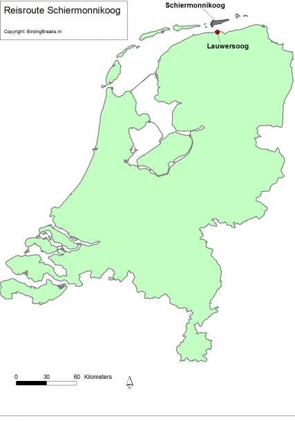 Kaartje Schiermonnikoog