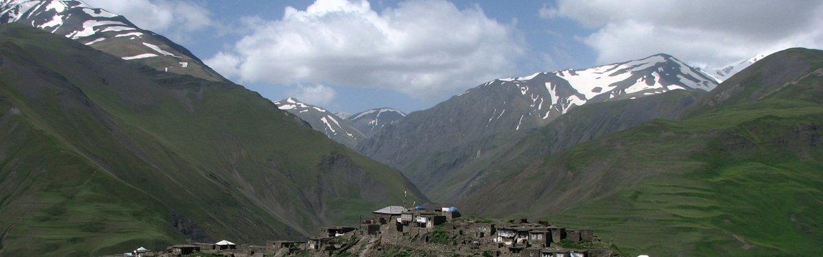 Bergdorpje Azerbeidzjan Kaukasus - Kai Gauger